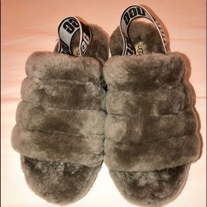 UGGs slippers size 9